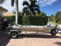 Please call owner Russell at . Boat is on Marco Island,