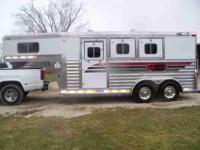 SOLD Top of the line All Aluminum four star 3 horse