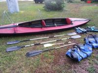 Selling a 16.5' Folbot 2 Seater Kayak, missing out on