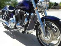 2003 Illusion Blue Honda VTX C 1800cc 18,700 mis