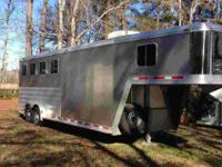 Up for sale I have a 2008 Featherlite 4 horse slant