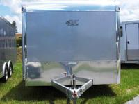 This all new beautiful ATC enclosed car trailer is all