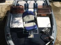 1986- XPK STOTT CRAFT BASS BOAT AND TRAILER IN GOOD