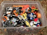 Huge lot of nearly 17 pounds of genuine Lego brand