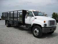 2002 GMC 24? x 96? Flatbed Truck, 3126 CAT, 210 HP, 99K