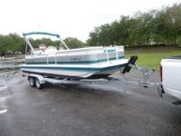 2002 Hurricane Deck boat with 86 total hrs. Thisboat is