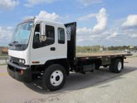 2002 Isuzu FTR 24? x 96? Flatbed Truck, 7.8L, Inline 6