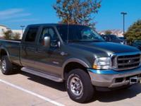 2004 Ford f350 - King Ranch edition 4x4 6.0L