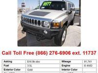 2006 Hummer H3SUV Gold 4dr All-wheel Drive Base SUV Gas