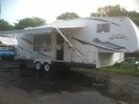 2008 JAYCO 27.5 RKS CAMPER ALL ALUMINUM FRAMED FULL