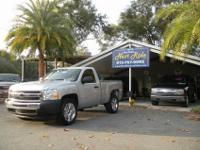 NICE 2011 CHEVY SILVERADO 6 1/2' BED WITH CHROME