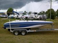 For sale is a Tahoe 202 Deckboat in amazing shape.