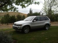 For sale is BMW's highly acclaimed 4.8 litter si X5.