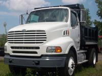 THIS IS A SINGLE AXEL 2000 STERLING DUMP TRUCK WITH A