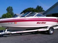 1998 Mastercraft Ski Boat, Maristar 200 VRS in good