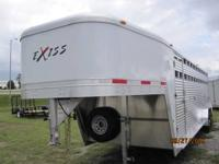 The most popular Exiss livestock trailer the Event 7