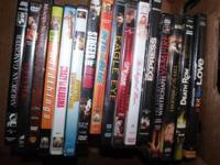 Assorted DVD's. Asking $2 each, or all of them for $20.