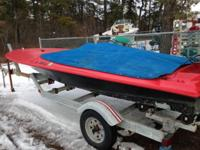 Up for sale is a 1972 baja speed boat with trailer ...