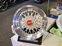 "16"" BBS RS Style  Size 16x8  Bolt Pattern 4x100 or"