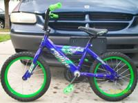 "I have a kids 16"" Bicycle for sale. Minor wear and"