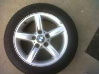 I have for sale 16 inch stock bmw rims with tires that