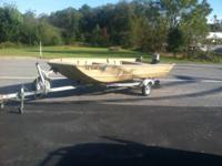 Selling my 16' Discovery Marine Boat with a 25 Hp