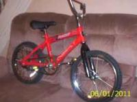 Here is a nice lil boys bike by NEXT. Bike has been