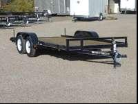 7X16 Car Hauling Trailer FINANCING AVAILABLE-Great