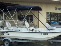 Like new 2009 J16 Carolina Skiff 2011 Honda BF25 Four
