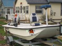 Call Boat Owner Tim . 16' Carolina Skiff boat with