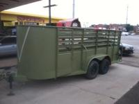Nice Trailer, Lights work, Good Condition.. Call Justin
