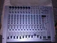 This is a Behringer Eurorack UB222FX-pro,16 channel, 8