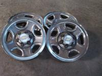 "Have a set of 6 bolt 16x6.5"" inch wheels that are steel"