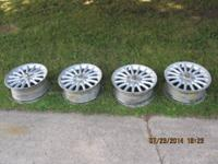 Set of 4 nice alloys off of Chrysler.  Will fit other