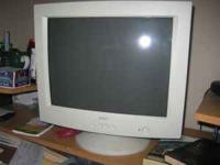 16 inch Dell Computer Monitor. Comes with keyboard.