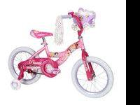 Huffy Girl's 16'' Disney Princess Cruiser Bike with