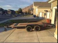 I have a 16' x 7', wood deck, dove tail vehicle