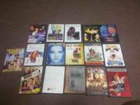 I have 16 dvds for sale asking $12. or best offer call