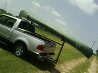 "I have a 16"" fiberglass heavy canoe and a rack to haul"