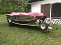 I have a 16 ft Bass Boat with trailer for sale. 2 new