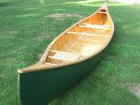 Canoe mold for building a traditional sixteen foot
