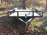 16 foot car trailer 2010 model floor in great shape