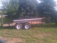 I have a 16 ft car trailer its three years old really