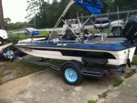 i have a 1996 sprint bass boat 266FS 16 foot dual