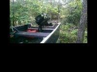 I have a 16 foot Starcraft Bassmaster boat for sale or