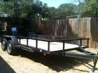 I have a 16 Foot tandem axle trailer with new wood, new