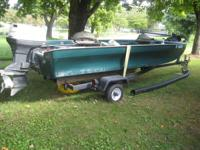 Great litttle fishing boat.   Features :   50 hp