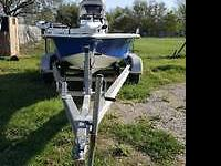 1986 Clear Title Baymaster Boat w/1998 70HP Johnson