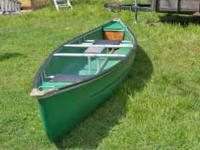 used Coleman Canoe.. 16 ft. with paddles. You won't be