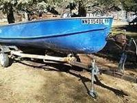 Everything is in great shape and works well. Boat has 4